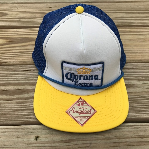 1d2c7abcd3b Corona Other - Corona Beer Extra Mens Snapback Trucker